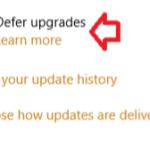 วิธีปิดอัพเดทใน Windows10 ไม่มีหรอกครับ แต่…