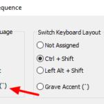 วิธีตั้งค่าปุ่มเปลี่ยนภาษา Windows 10